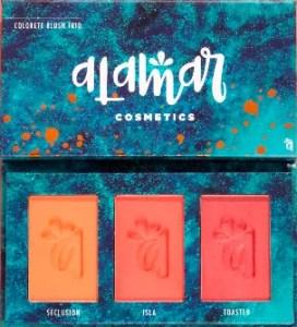Alamar Colorete Blush Trio in Medium/Tan
