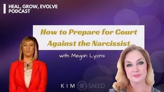 court against the narcissist