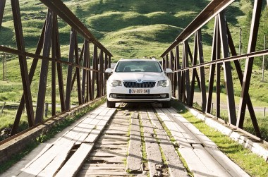 Skoda Superb in Highlands