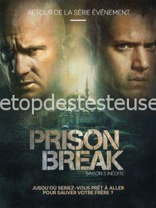 Le top des testeuses Prison Break - Saison 5 Série