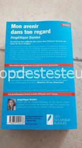 Le top des testeuses Mon avenir dans ton regard d'Angélique DANIEL Livres