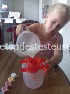 Le top des testeuses Moulage hibou, vu par Maëllys 5 ans Le Coin des Mamans Leurs Tests