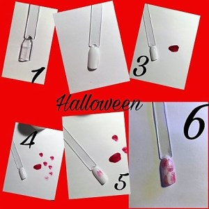 Le top des testeuses Nail art sur le thème d'Halloween Nail Art