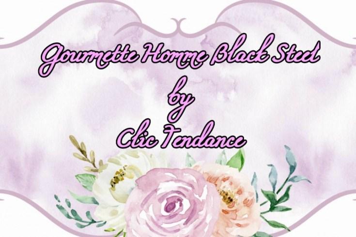 Le top des testeuses Gourmette Homme Black Steel by Clic Tendance Bijoux Bracelets