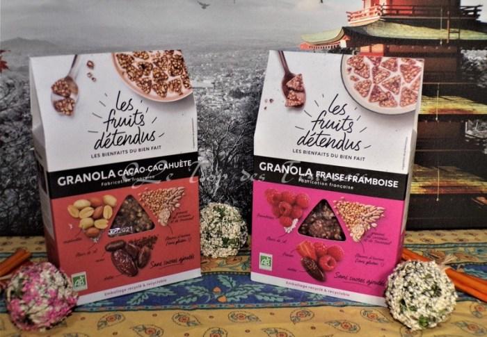 Notre avis sur les granolas Les Fruits Détendus !!