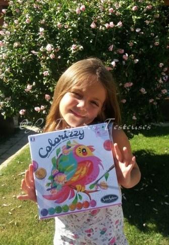 L'avis de Tess sur Colorizzy : peinture par numéro de Sentosphère !