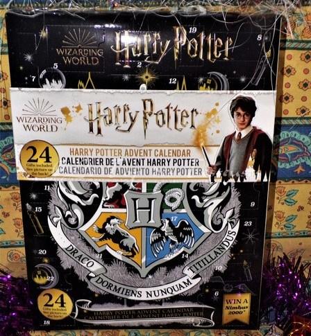 Notre avis sur le calendrier de l'avent H.Potter 2002 Cinereplicas
