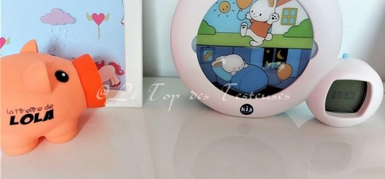 L'avis d'Emilie sur le réveil Kid'Sleep Clock de Pabobo !