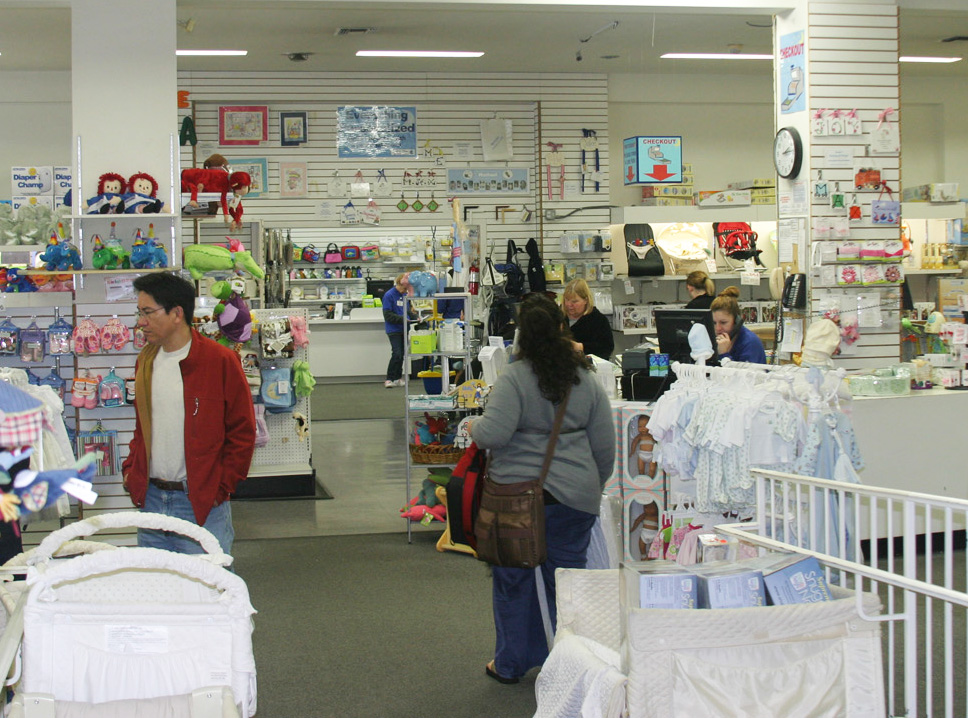 "Just a ""small"" section of Lullaby Lane Baby and Kid's Superstore!"