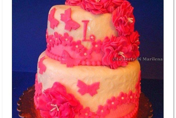 Compleanno Gemelli  Le Torte di Marilena