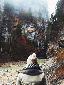 More awe inspiring views from Partnach Gorge.