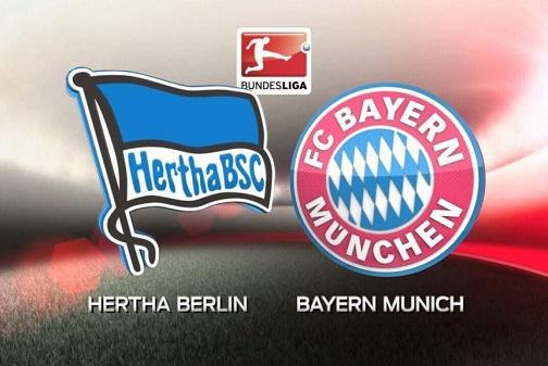 Soi kèo Hertha Berlin vs Bayern Munich 21h30' 19/01/2020