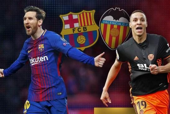 Soi kèo Valencia vs Barcelona 22h00' 25/01/2020