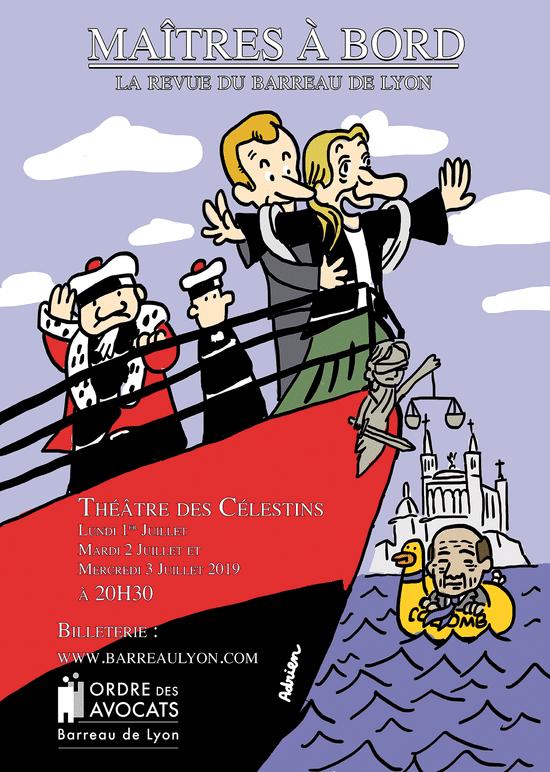 Maîtres à bord, la Revue du Barreau de Lyon