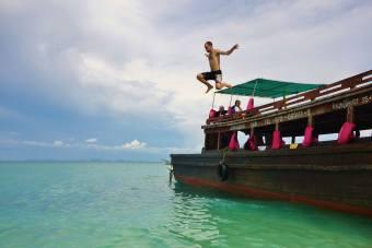 bateau saut Krabi