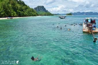Snorkeling Thaïlande Krabi