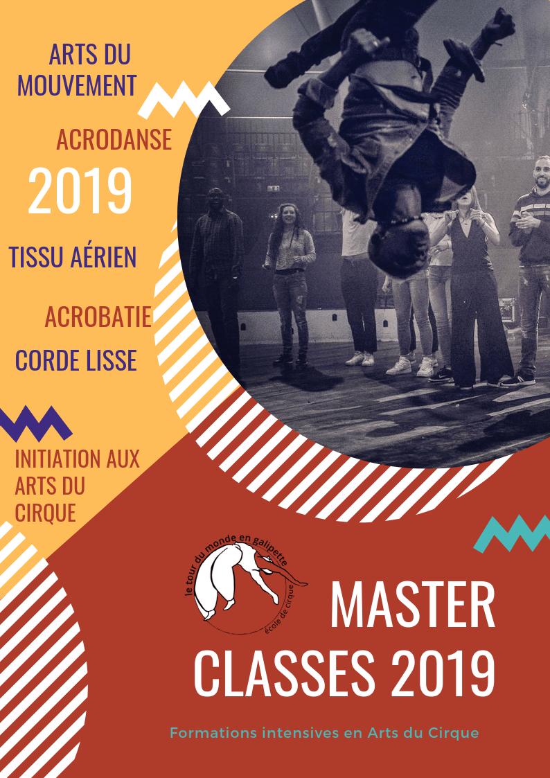 Masters classes 2019