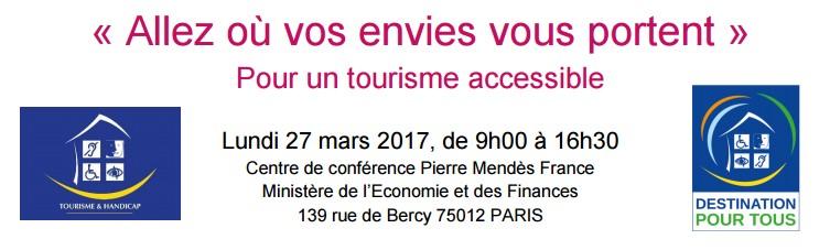 Colloque tourisme et accessibilité de la DGE
