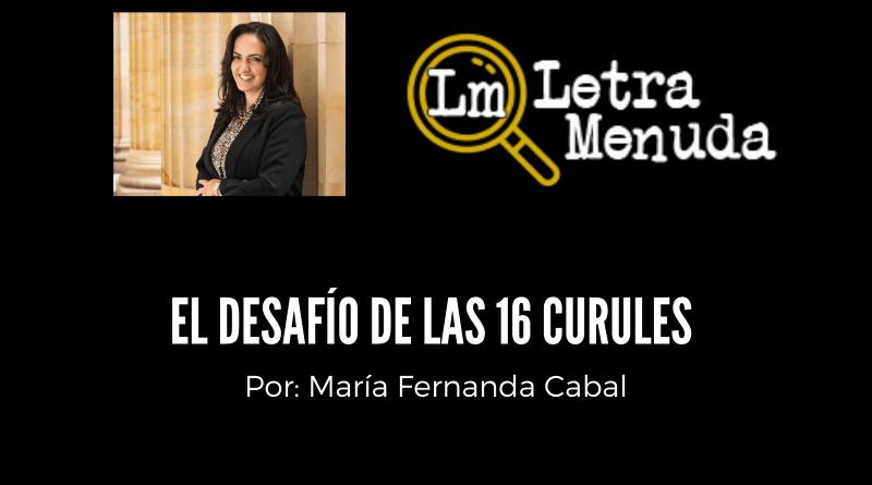 Por María Fernanda Cabal