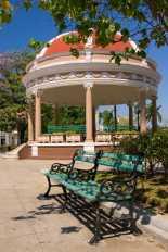 Cúpula de la Glorieta del Parque José Martí