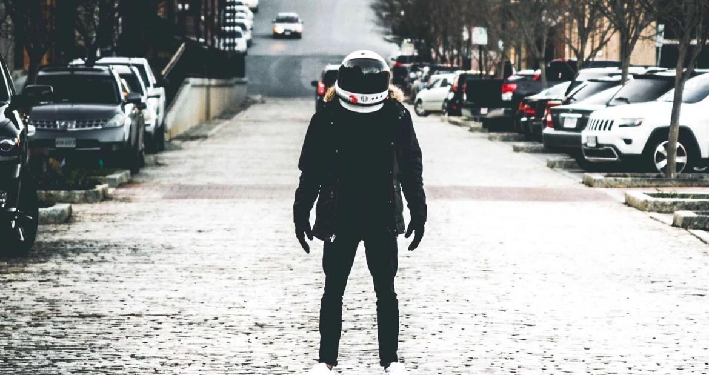 astronaut, street