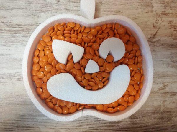 Calabazas porta chuches Halloween