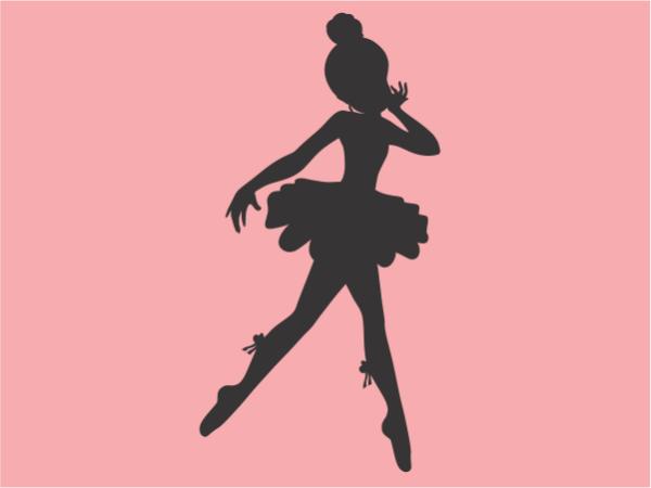 Bailarina en corcho
