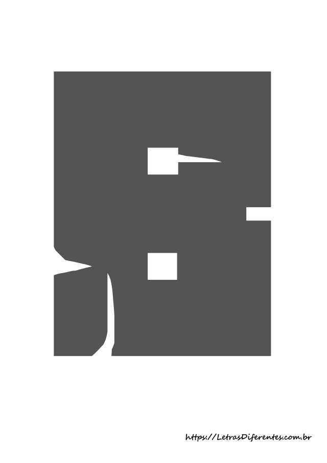 alfabeto letras b minecraft para imprimir (3)