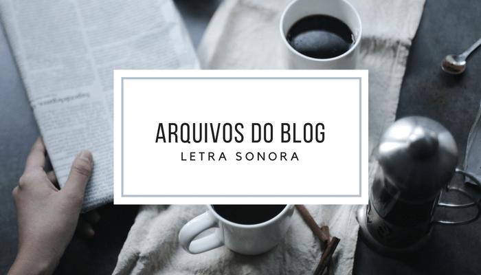Arquivos do blog