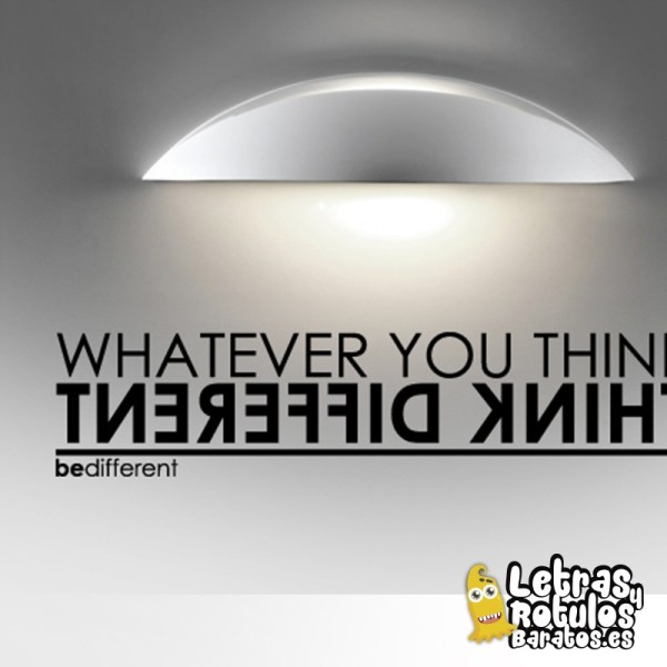 Think Different - What Ever You Think