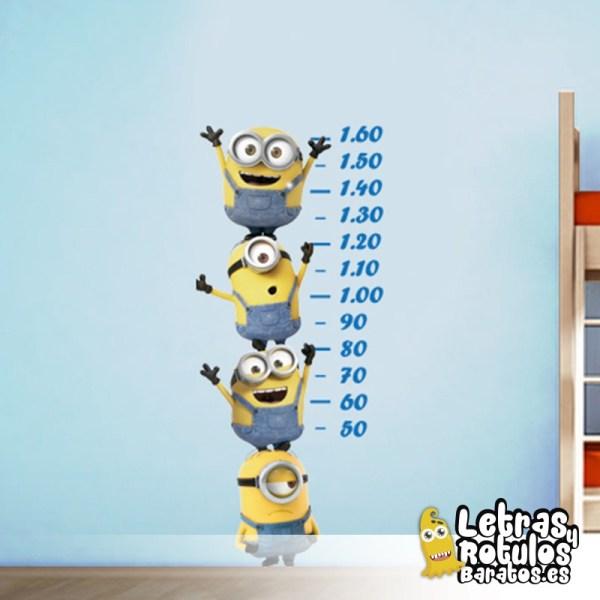 Minions para medir tu estatura