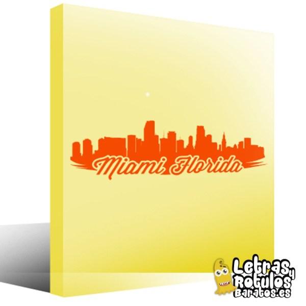 Skyline Miami Florida
