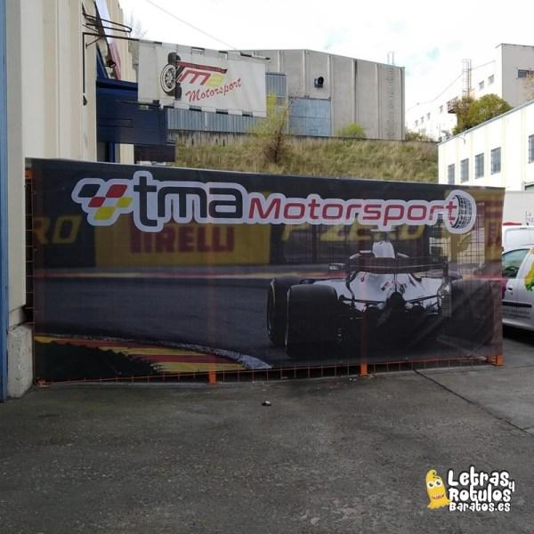 Lona Impresa Microperforada