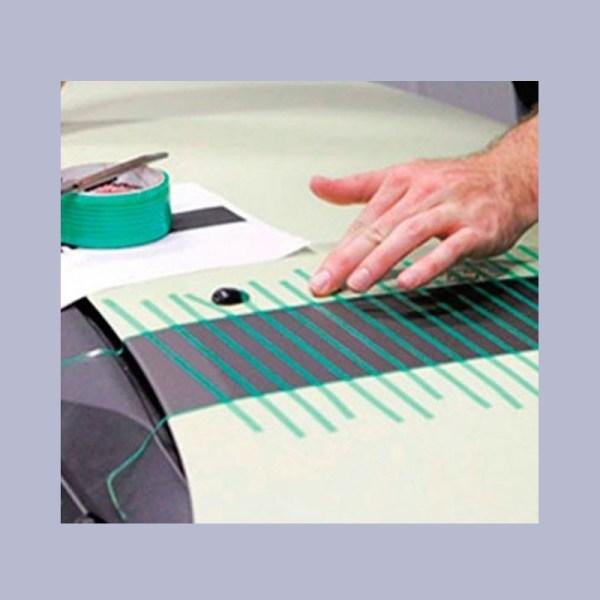 Corta tus diseños sin dañar la carrocería. Diseñado para la aplicación de vinilos con diseños complejos.