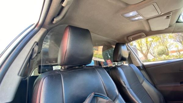 Mampara Protector Vehículos Especial COVID19 (Tipo Turismo)