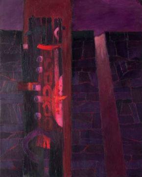 CAMINO A MENDIETA Acrylic on canvas