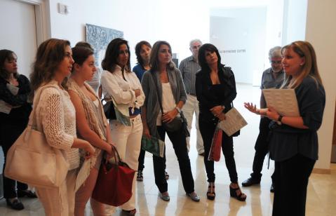 Encuentros con el arte.La guerra que no hemos visto. 2012