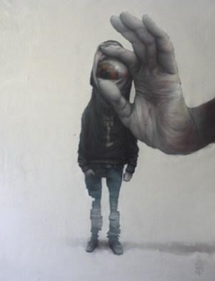 Urban kontortion #02 | 130 x 97 cm | Spray paint and acrylic on canvas | 2014