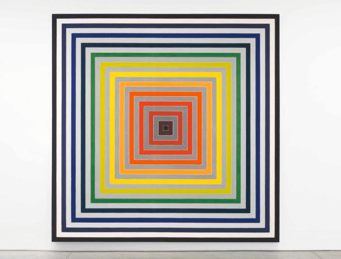 Frank Stella: Experimento y Cambio