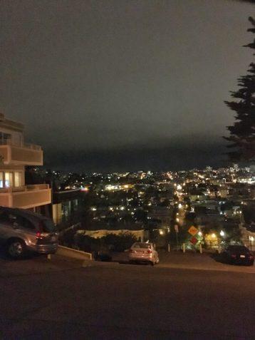 View of San Francisco at night