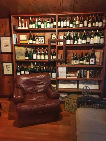Decor inside the Failla tasting room in Napa California