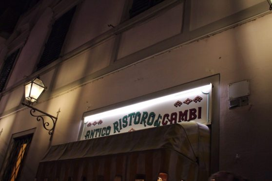 Italian restaurant recommended to us by our tour guide