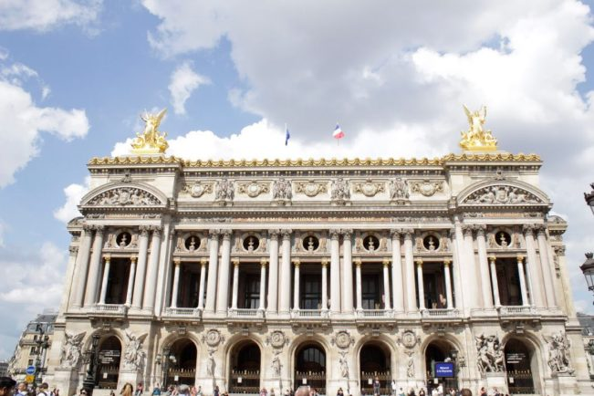 Opera Garnier in Paris France