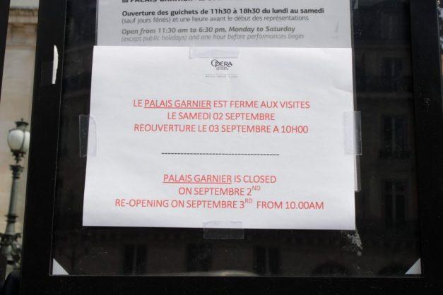 Opera Garnier in Paris France