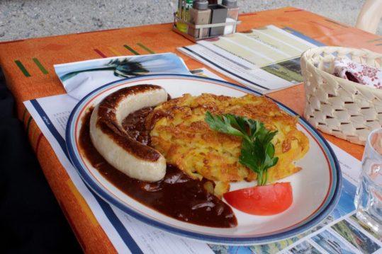 Lunch in Winteregg Switzerland