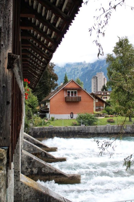 Bridge in Interlaken Switzerland
