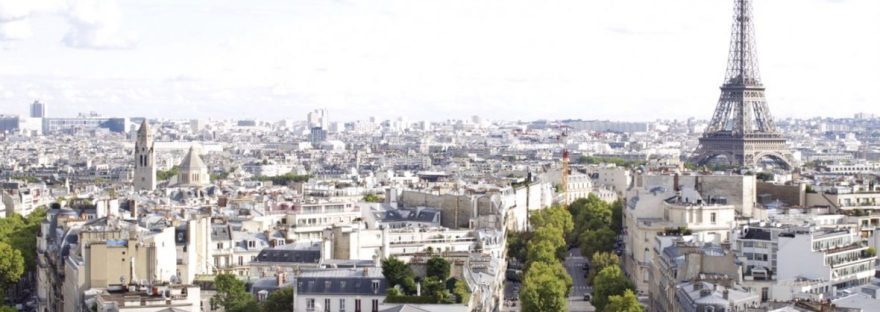 Paris, France - View from Arc du Triomphe