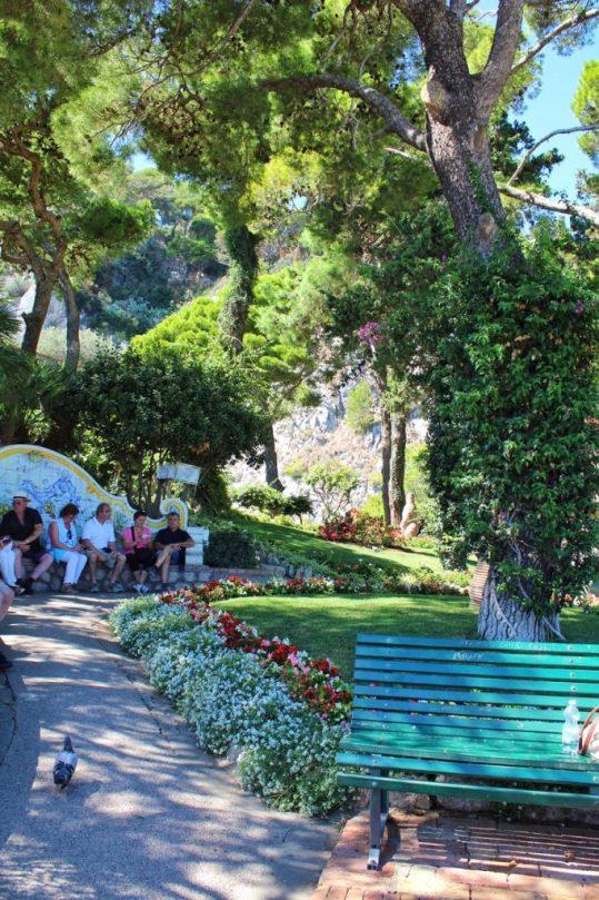 Giardini di Augustino in Capri, Italy