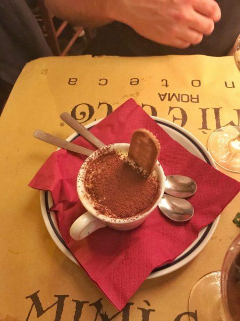 Dinner at Mimi E Coco in Rome Italy