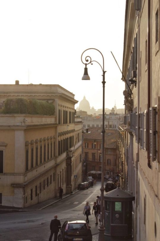 Sunset in Rome Italy